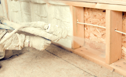 We offer spray foam insulation throughout Delmarva.